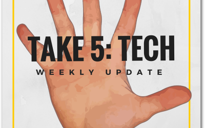 Take 5: Tech Weekly Update – 13 May 2016