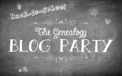 Go Back to School with the Genealogy Blog Party!