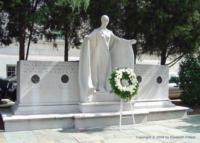 Image of the DAR Founders Memorial