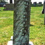 Tombstone Tuesday: Serena (Baxter) BROWN