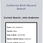 More New Genealogy-Related iPhone Apps: California & Texas Birth Records