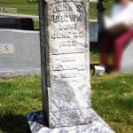 Tombstone Tuesday: John S. BROWN