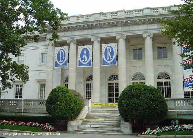 DAR Headquarters undergoing a major renovation
