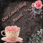 One Lovely Blog Award – Thank You!