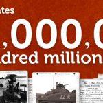 Fold3 Surpasses 100 Million Images!
