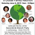 Global Family Reunion: Second Life Branch Party