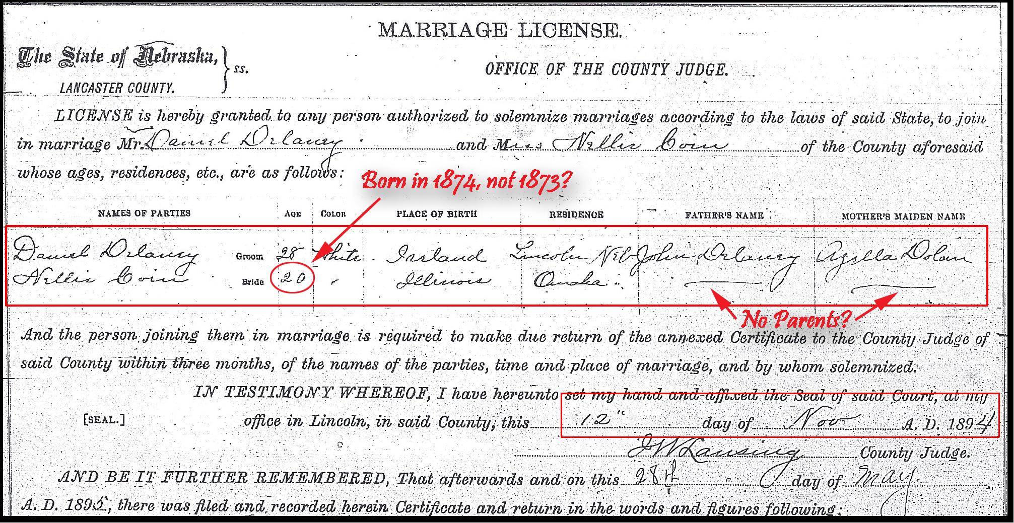 marriage records lancaster county nebraska