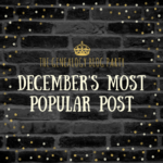 Congrats to the December Genealogy Blog Party Top Vote-Getter!