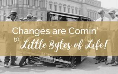 Changes Are Comin' to Little Bytes of Life!
