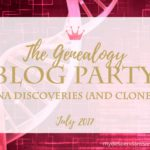The July Genealogy Blog Party: DNA Discoveries
