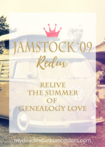 It was 2009, the Summer of Genealogy Love, and the Burbank Marriott was rockin'. Relive the fun in this 7-part parody series, JAMSTOCK '09.