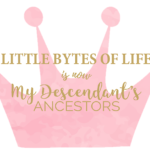 """Little Bytes of Life"" is Now ""My Descendant's Ancestors"""
