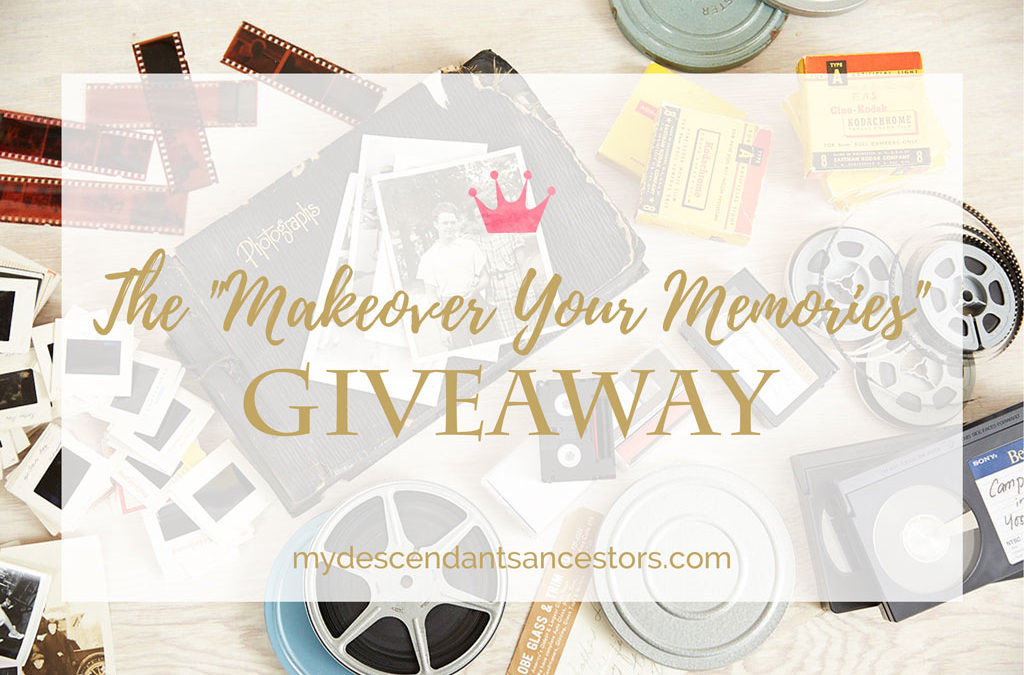 """Enter the """"Makeover Your Memories"""" Giveaway!"""