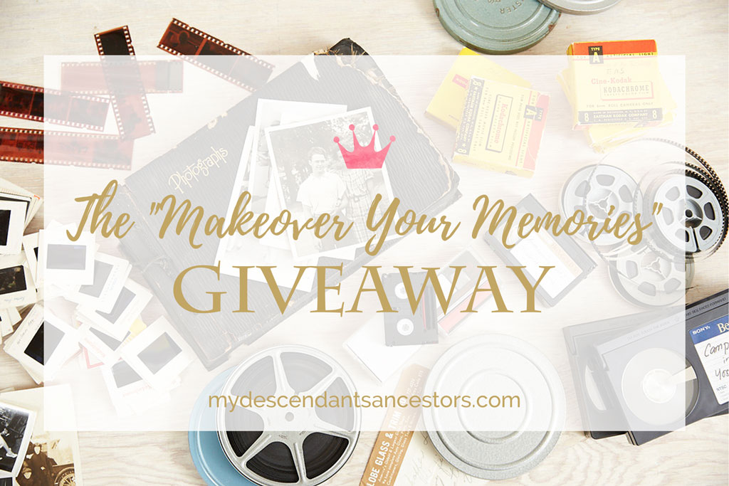 "Enter the ""Makeover Your Memories"" Giveaway"