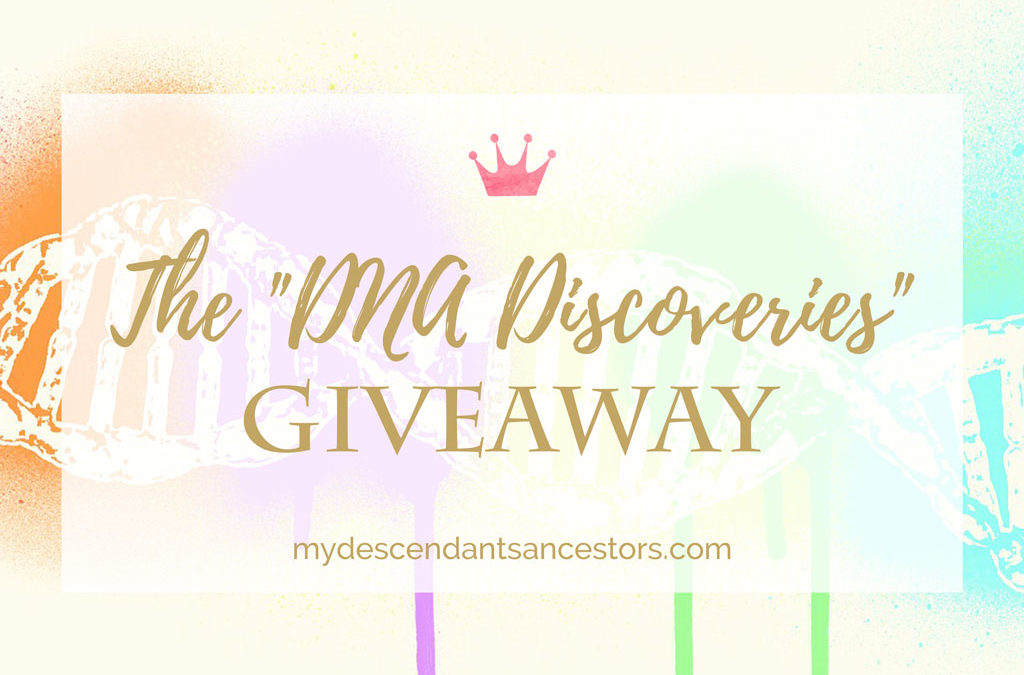 """Enter the """"DNA Discoveries"""" Giveaway!"""