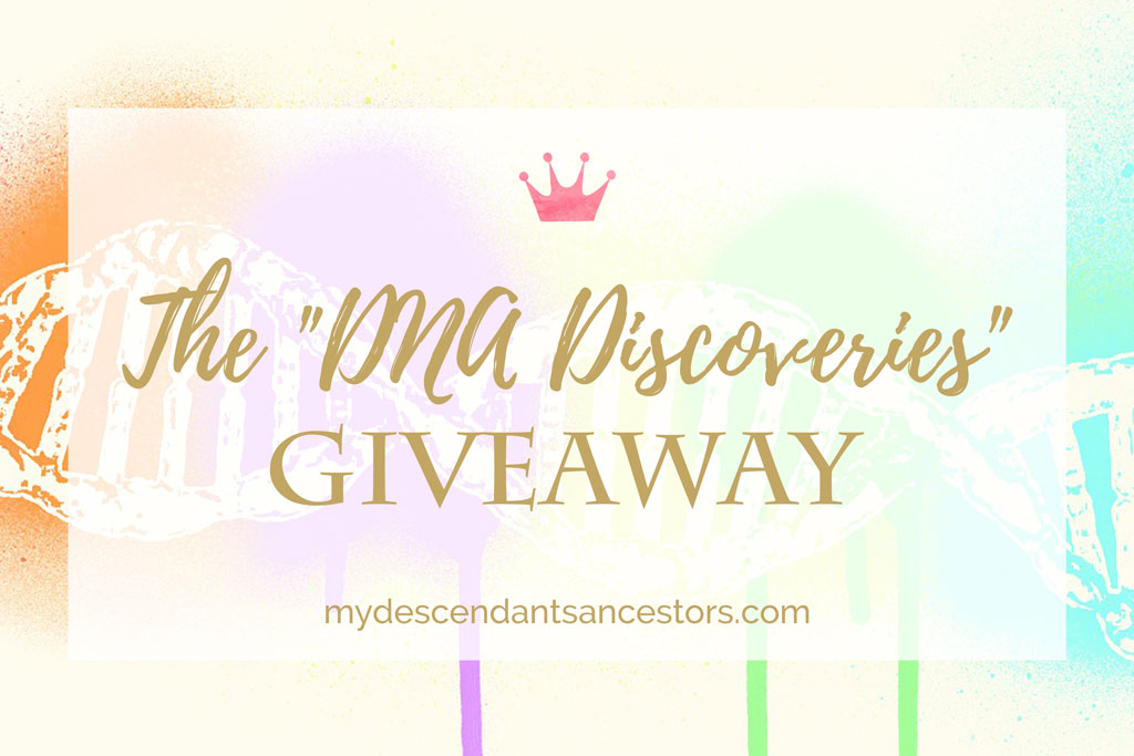 Enter the DNA Discoveries Giveaway