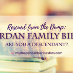 Rescued from the Dump: Jordan Bible