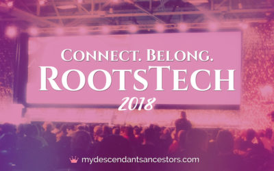 Connect – Belong at RootsTech 2018