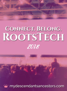 Connect - Belong at RootsTech 2018