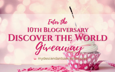 "Enter the ""10th Blogiversary – Discover the World"" Giveaway!"