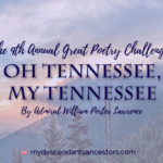 The 9th Annual Great Poetry Challenge: Oh Tennessee, My Tennessee