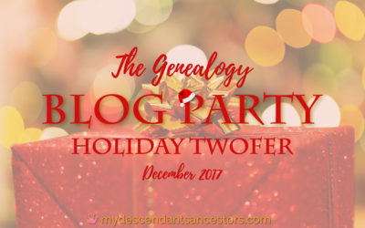 The Genealogy Blog Party: Holiday Twofer