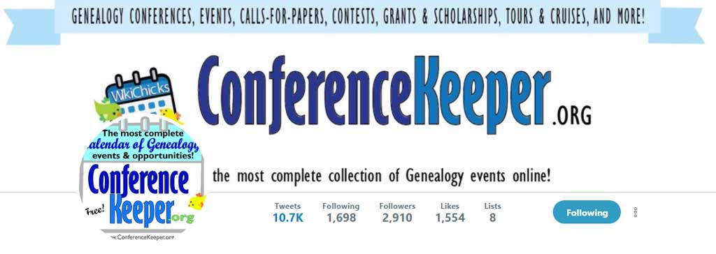 Conference Keeper Twitter