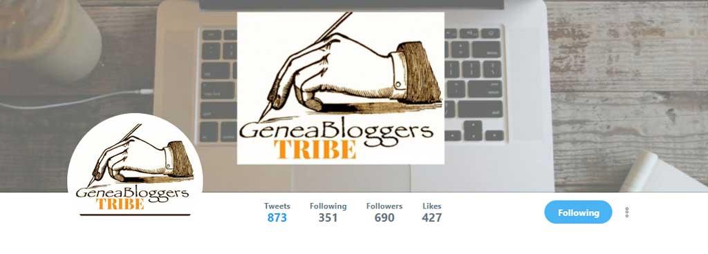 GeneaBloggersTRIBE Twitter