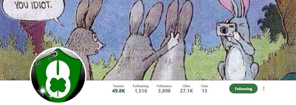 Sir Leprechaun Rabbit Twitter
